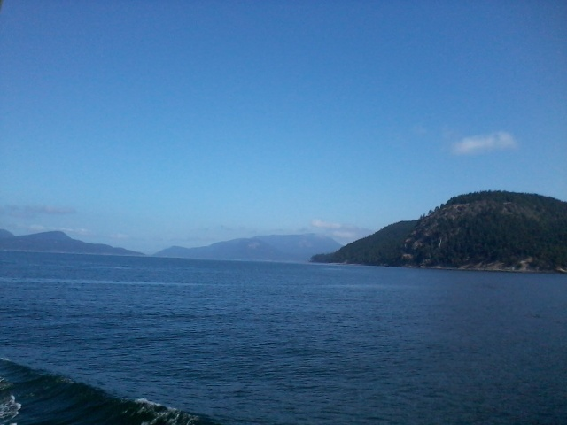 View from Orcas Island