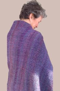 shawl with Estherj