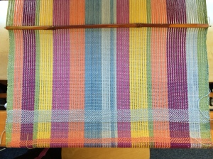 yardage on the loom