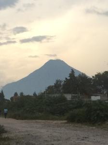 Volcano over Atitlan