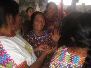 A weaving community.